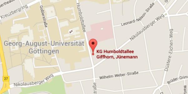 KG Humboldtallee- Goolge Maps