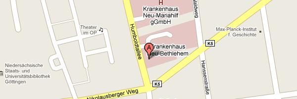 Standort der KG Humboldtallee