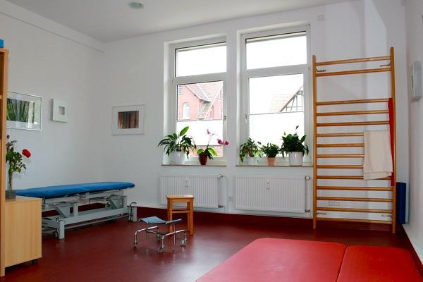 Behandlungszimmer Krankengymnastik und Physiotherapie Praxis Göttingen