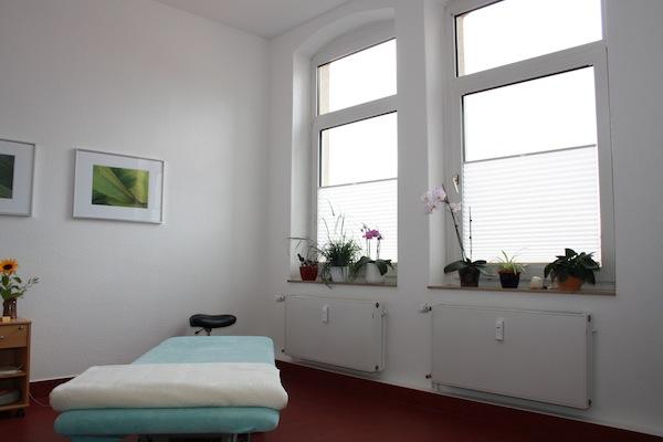 Behandlungszimmer Physiotherapie- Praxis KG Humboldtallee Göttingen