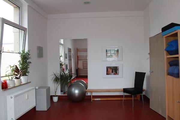Behandlungszimmer Physiotherapie-Praxis KG Humboldtallee