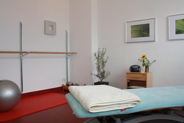 Behandlungszimmer KG Physiotherapie Humboldtallee